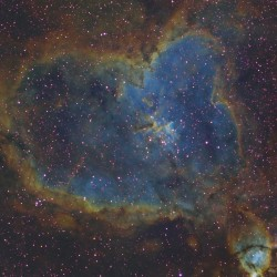 IC 1805, Heart Nebula