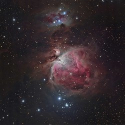 M42, Messier 42, Running Man Nebula, Orion Nebula