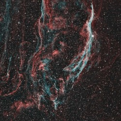 NGC 6960, Witches Broom Nebula, Finger of God Nebula, Filamentary Nebula