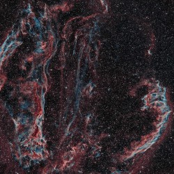 NGC 6992, NGC 6960, NGC 6979, NGC 6974, Pickering's Triangle